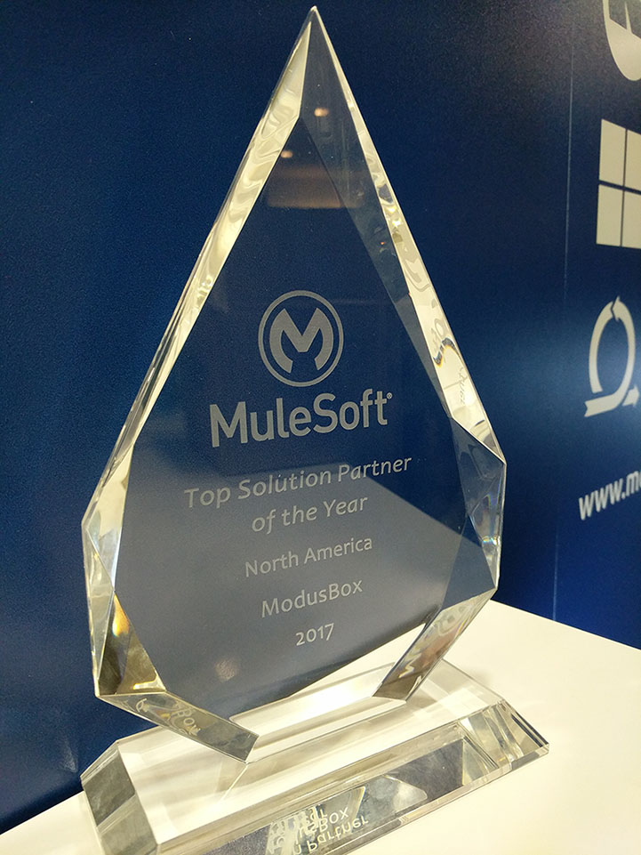 MuleSoft Solutions Partner of the Year