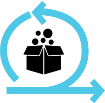 Agile org model logo