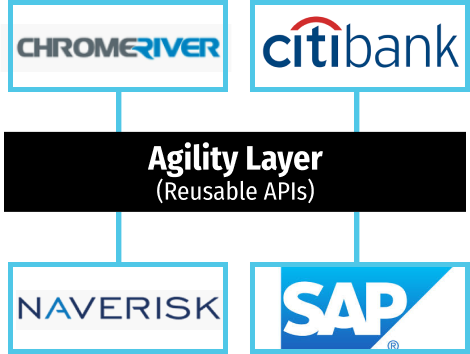 NavRisk Vision, Chrome River Technologies, SAP, CitiBank/SWIFT